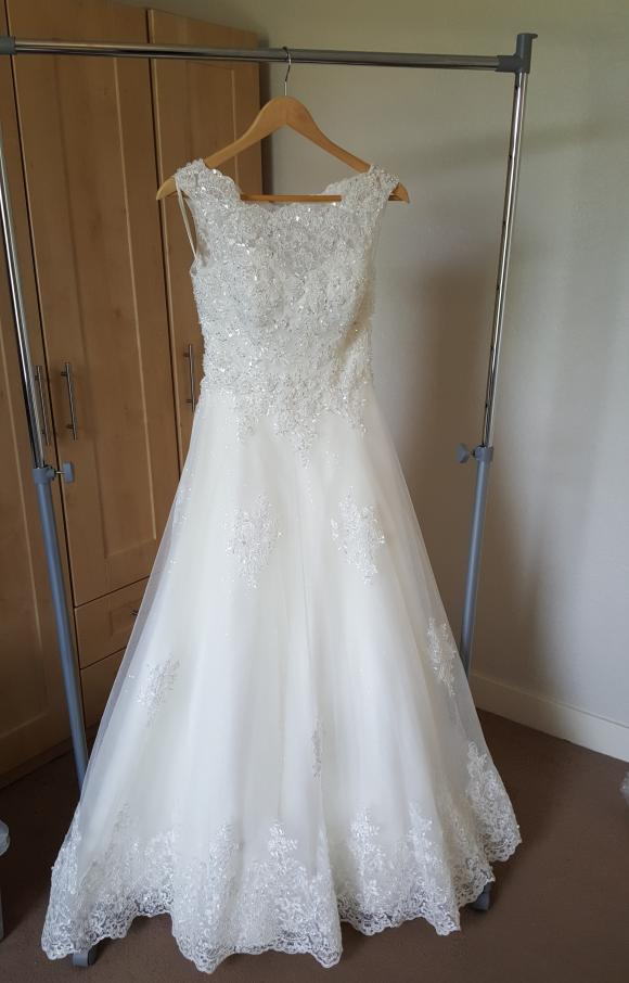 Unknown Designer   Wedding Dress   Aline   C2414