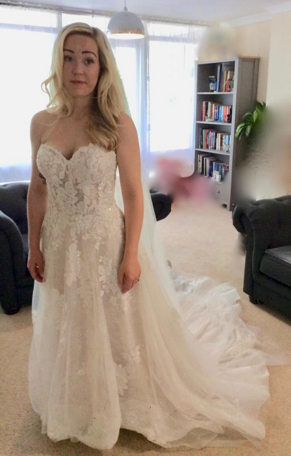 Eternity Bridal | Wedding Dress | Aline | C2378