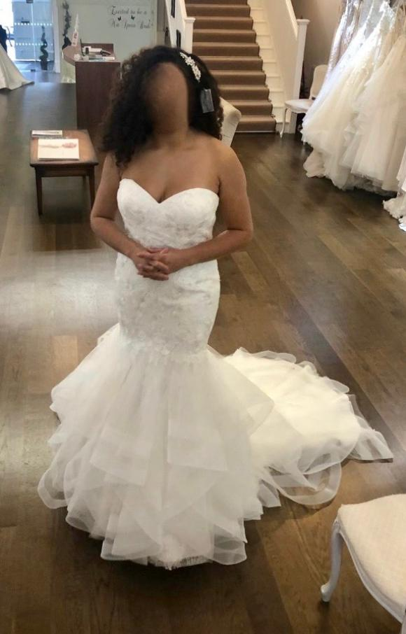 Justin Alexander | Wedding Dress | Fishtail | C2339