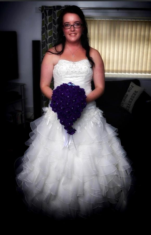 Mark Lesley | Wedding Dress | Drop Waist | C2346
