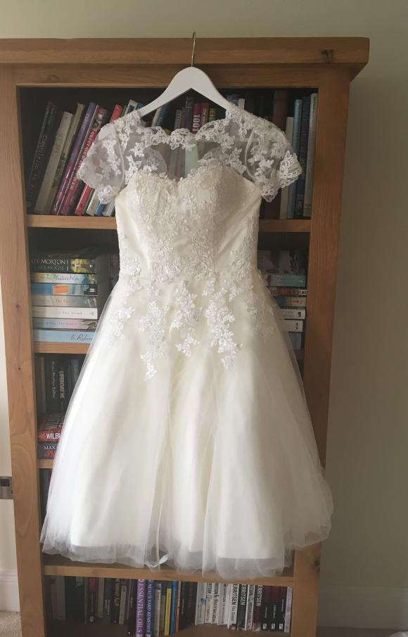House of Mooshki | Wedding Dress | Tea Length | C2459