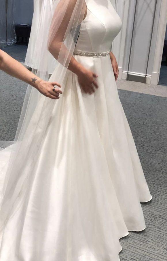 Davids Bridal   Wedding Dress   Aline   C2482