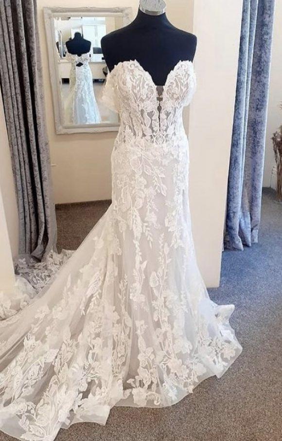 Morilee | Wedding Dress | Slim Aline | C2323