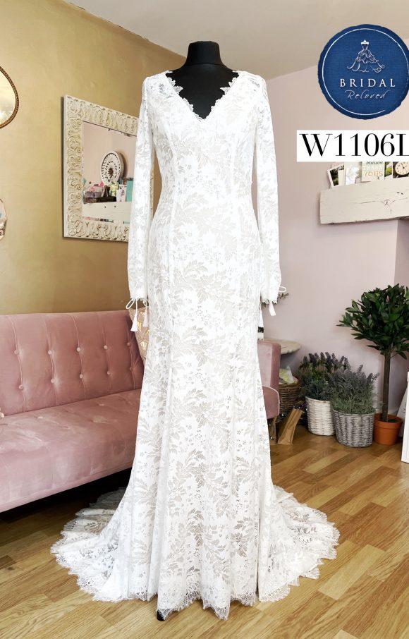 Watters | Wedding Dress | Fit to Flare | W1106L