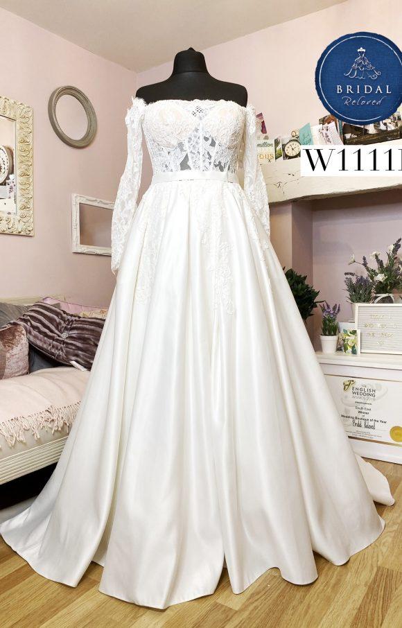 Calla Blanche | Wedding Dress | Princess | W1111L