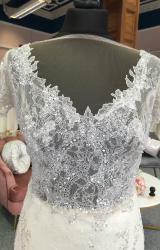 Alessandra Rinaudo | Wedding Dress | Column | G74C
