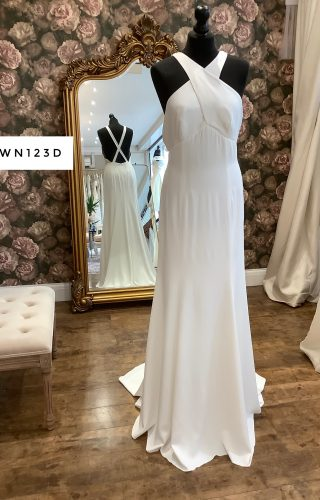Charlie Brear | Wedding Dress | Fit to Flare | WN123D