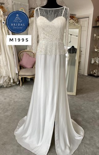 Eliza Jane Howell   Wedding Dress   Fit to Flare   M199S