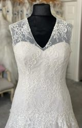 White Rose | Wedding Dress | Aline | M86S