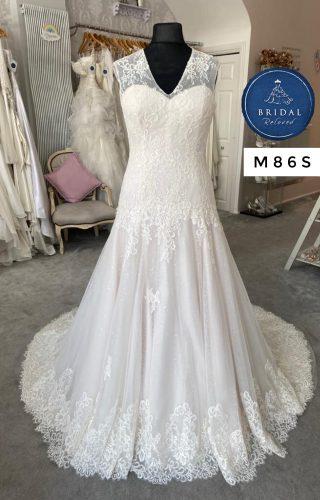White Rose   Wedding Dress   Aline   M86S