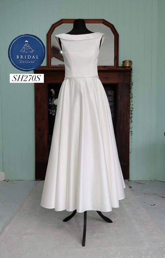 Lou Lou   Wedding Dress   Tea Length   SH270S