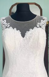 Ella Rosa | Wedding Dress | Fit to Flare | SH269S