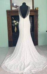Ella Rosa   Wedding Dress   Fit to Flare   SH269S