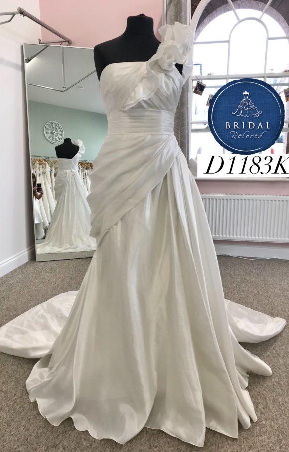 Pronovias   Wedding Dress   Aline   D1183K