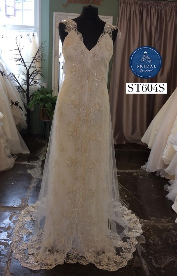 Savin | Wedding Dress | Sheath | ST604S