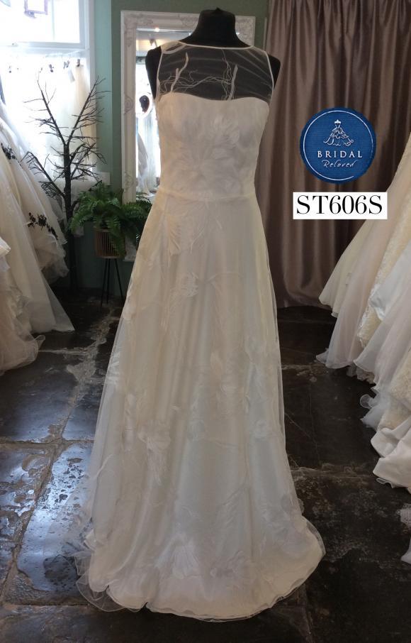 Savin | Wedding Dress | Aline | ST606S