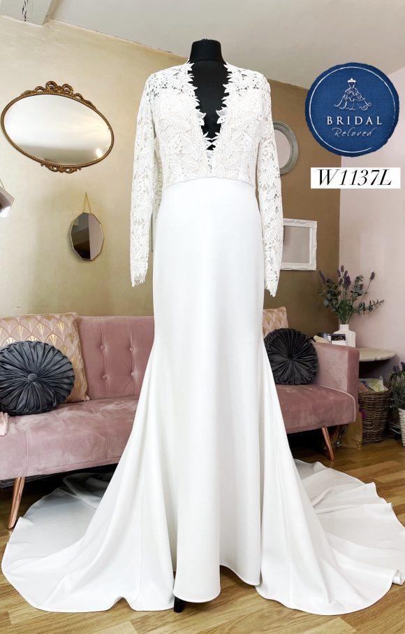 Tara Keely   Wedding Dress   Fit to Flare   W1137L