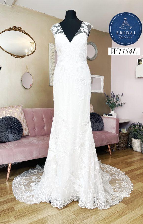 Watters   Wedding Dress   Fit to Flare   W1154L