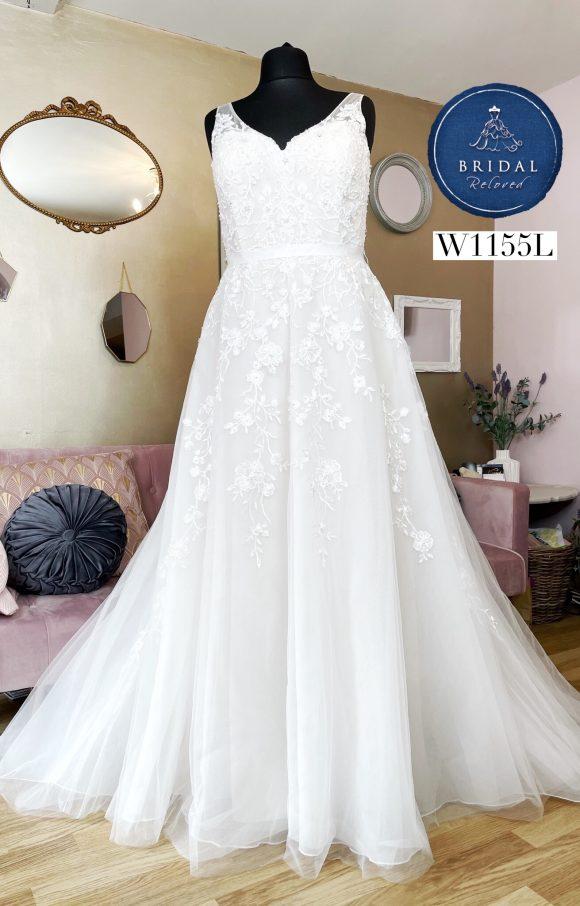Ellis Bridal   Wedding Dress   Aline   W1155L