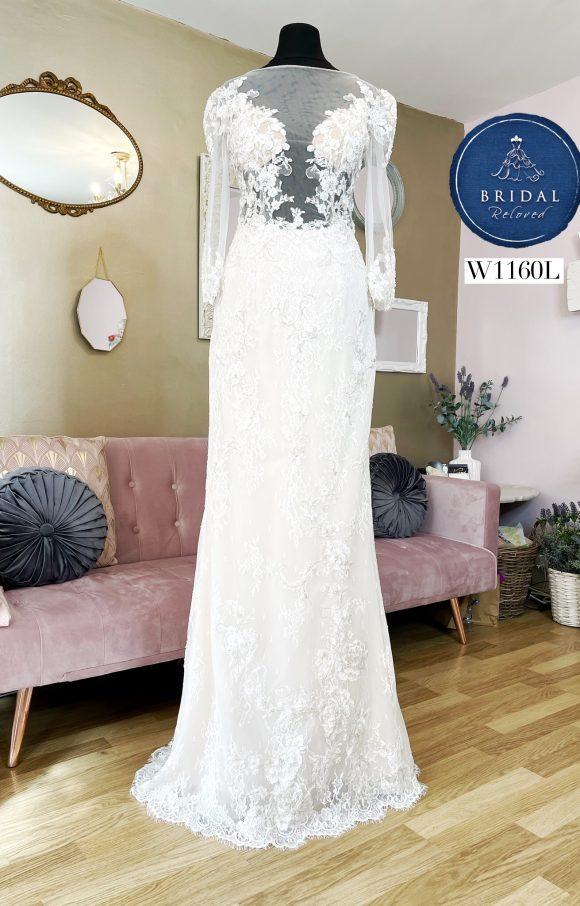 Nicole Spose   Wedding Dress   Fit to Flare   W1160L