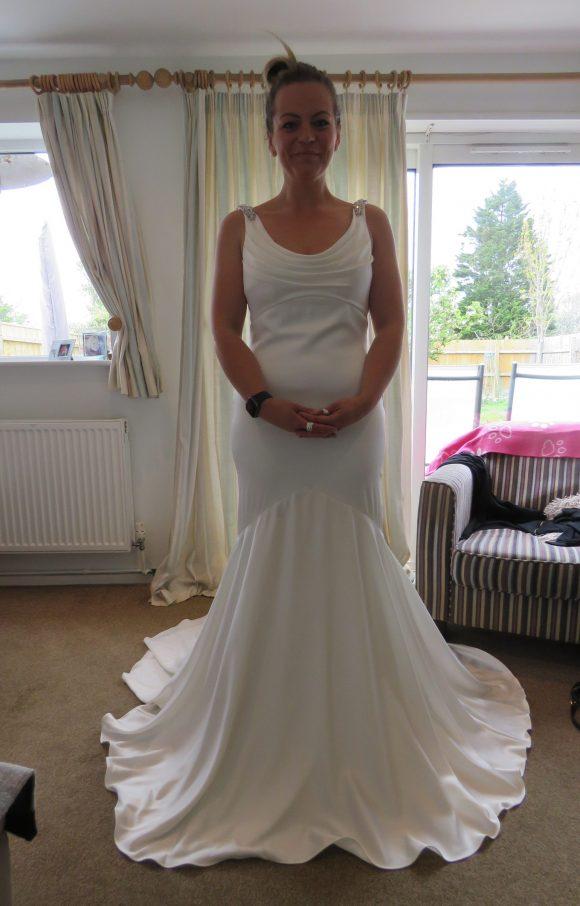 Anna Sorrano   Wedding Dress   Sheath   C2334