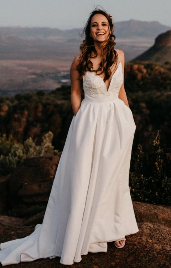 Robyn Roberts | Wedding Dress | Aline | C2454