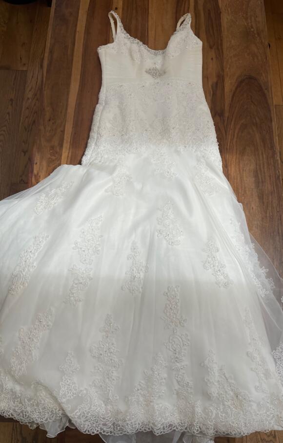 Morilee   Wedding Dress   Drop Waist   C2581