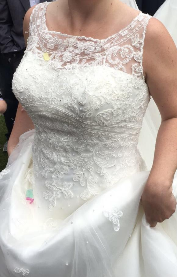 Ellis Bridal | Wedding Dress | Aline | C2392