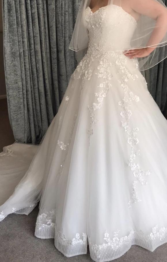 Maggie Sottero   Wedding Dress   Princess   C2455