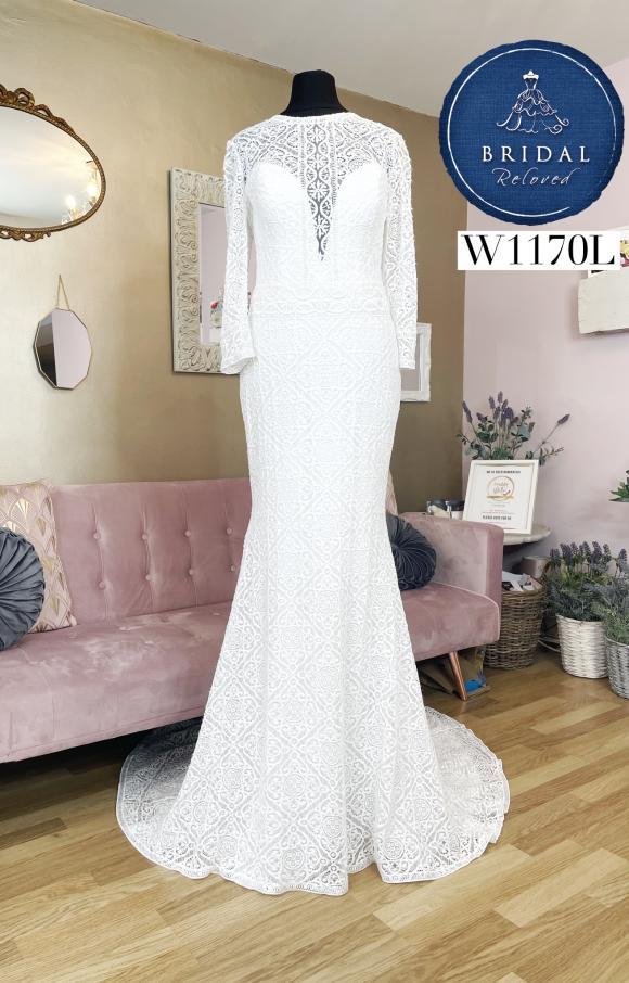 Lillian West   Wedding Dress   Fit to Flare   W1170L