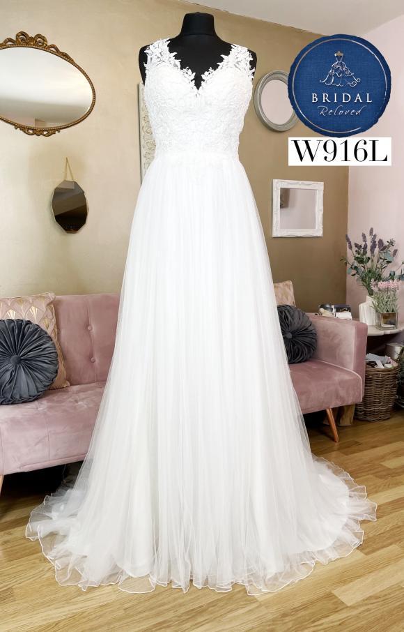Lillian West   Wedding Dress   Aline   W916L