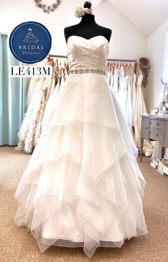 Paloma Blanca   Wedding Dress   Aline   LE413M
