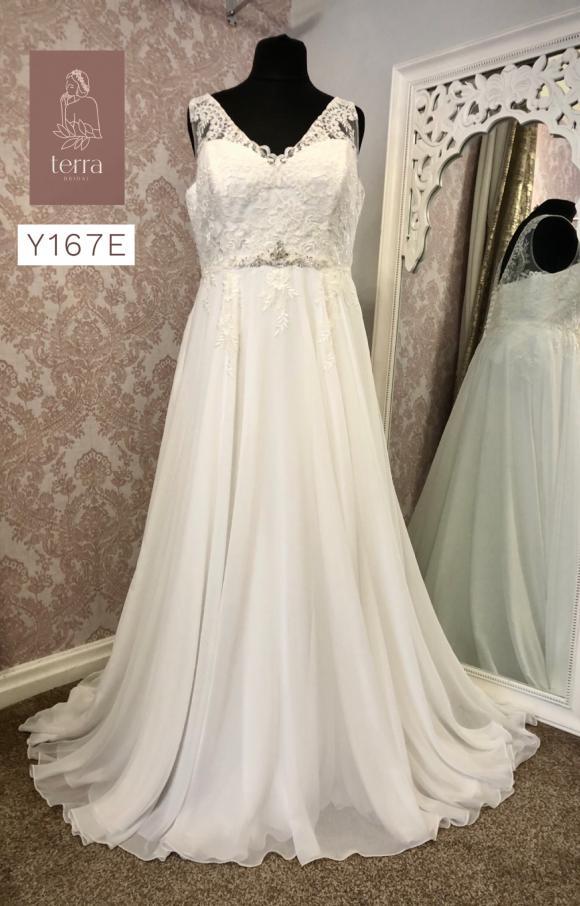 Terra Bridal   Wedding Dress   Aline   Y167E