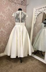 Hilary Morgan | Wedding Dress | Tea Length | Y171E