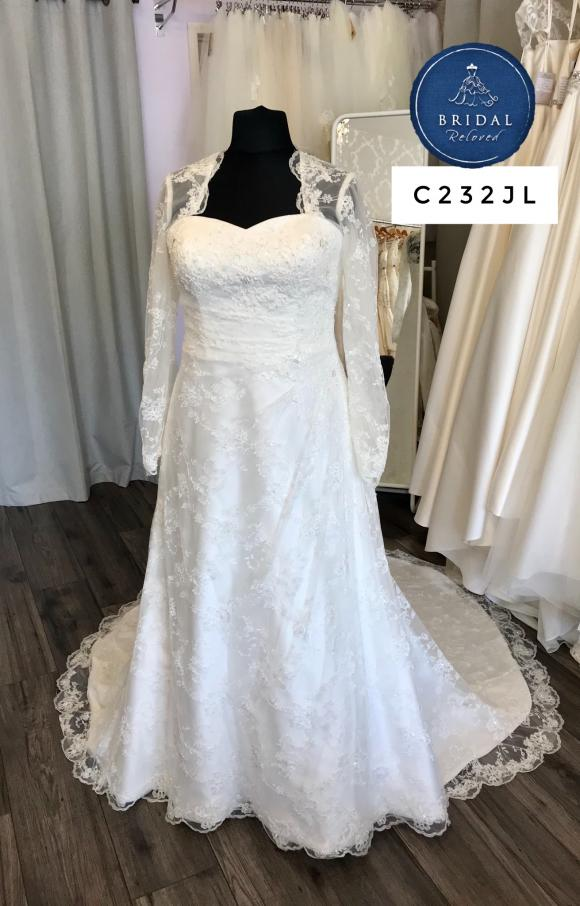 Romantica | Wedding Dress | Aline | C232JL