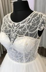 Aire Barcelona   Wedding Dress   Aline   C233JL