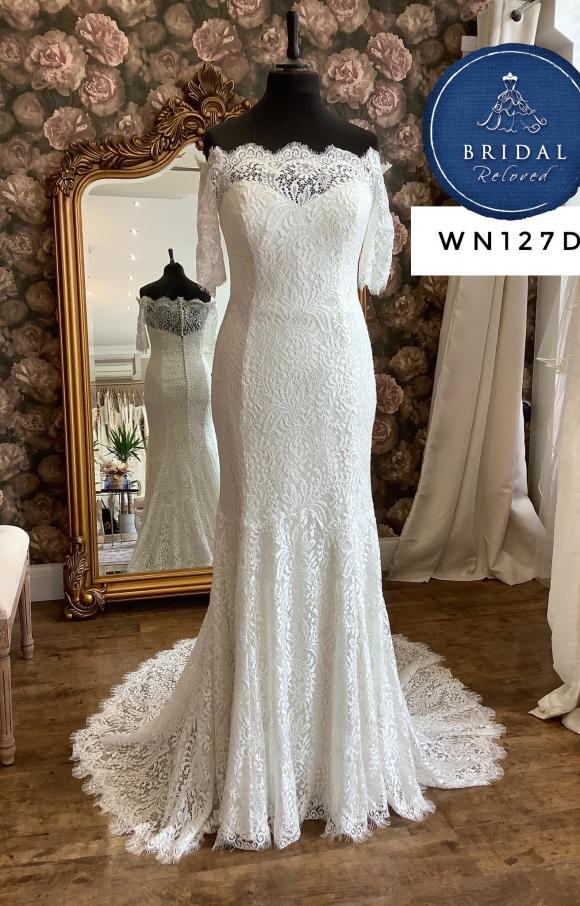 Watters | Wedding Dress | Fit to Flare | WN127D