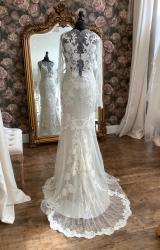David Fielden | Wedding Dress | Fit to Flare | WN128D