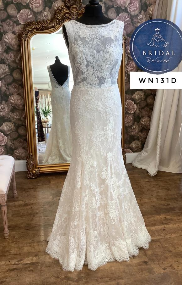 Lusan Mandongus | Wedding Dress | Fit to Flare | WN131D