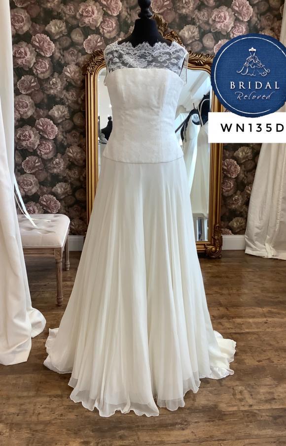Stewart Parvin | Wedding Dress | Aline | WN135D