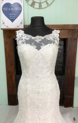 Morilee | Wedding Dress | Fit to Flare | SH213S