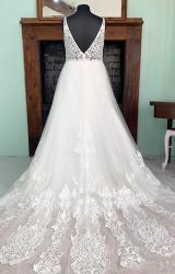 Terra Bridal | Wedding Dress | Aline | SH228T