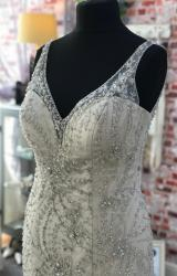 English Rose | Wedding Dress | Fit to Flare | CA268G
