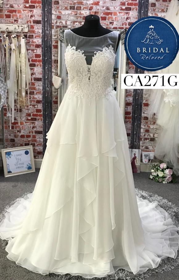 Lillian West | Wedding Dress | Aline | CA271G
