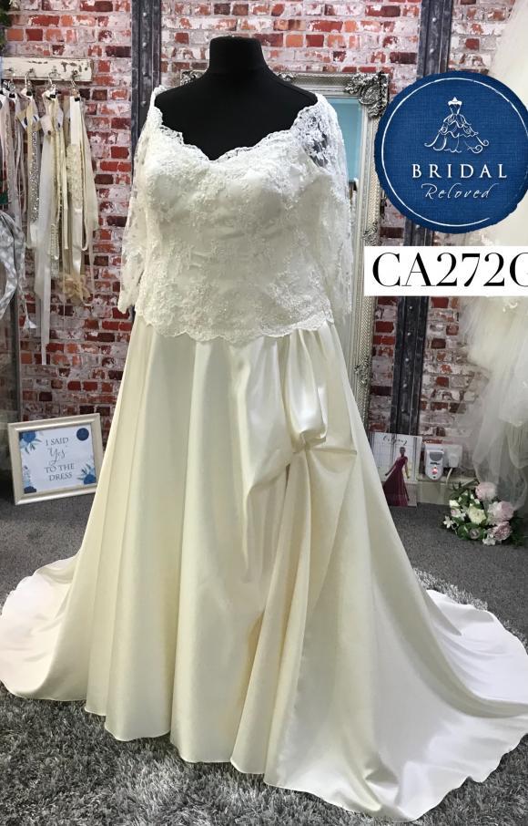 Eternally Yours   Wedding Dress   Aline   CA272G
