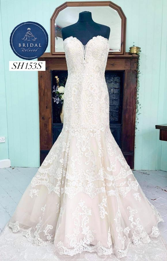 Kenneth Winston | Wedding Dress | Fit to Flare | SH153S