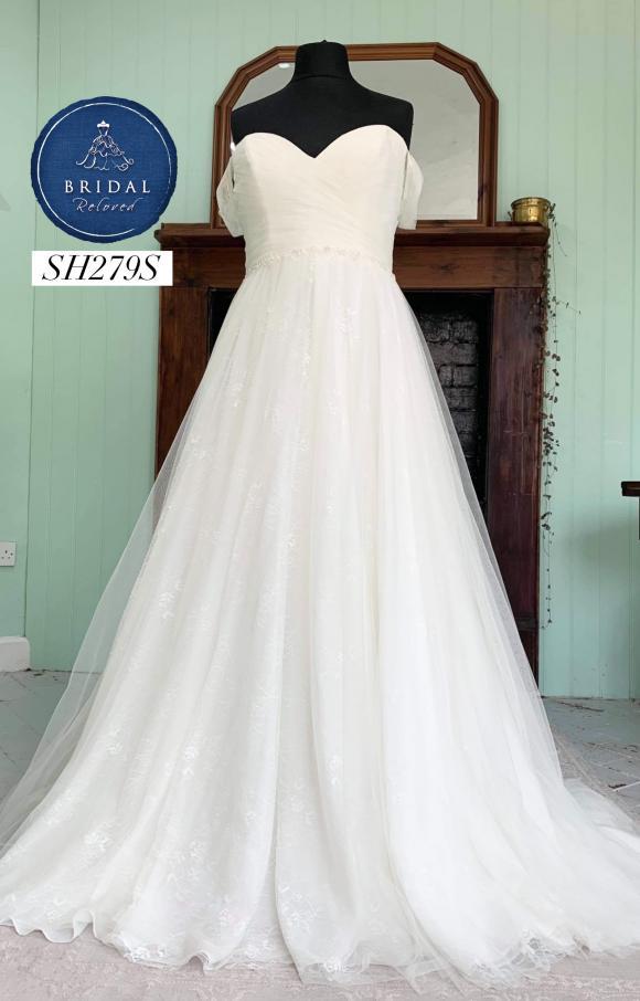 Marys Bridal   Wedding Dress   Aline   SH279S