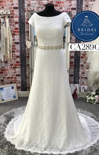 Millie Mae   Wedding Dress   Aline   CA289G