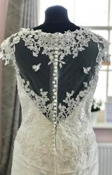 Ian Stuart   Wedding Dress   Fishtail   D1187K