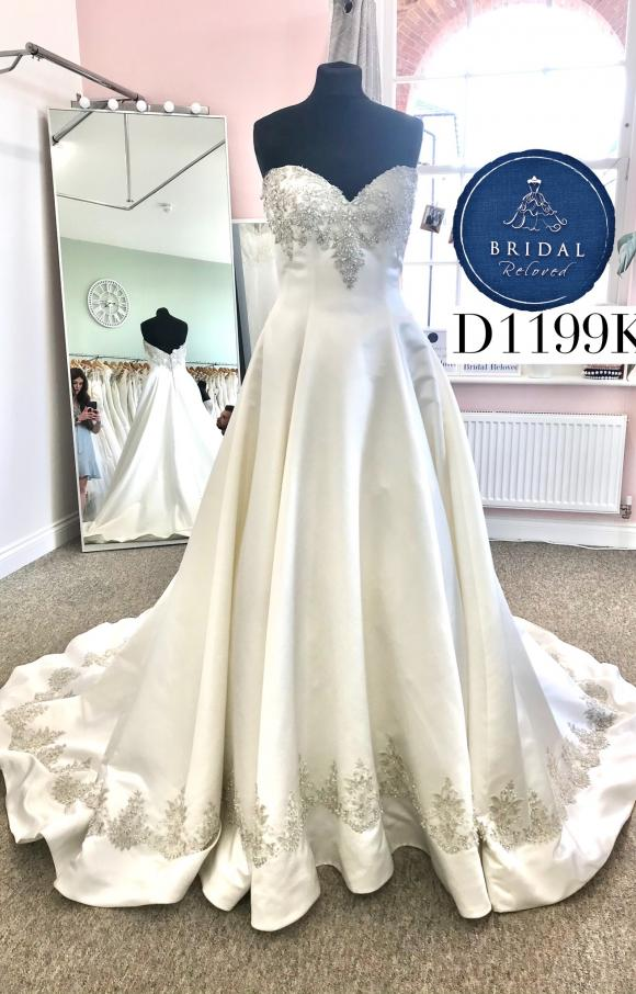 Ronald Joyce   Wedding Dress   Aline   D1199K